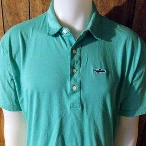 Patagonia Polo Trout Fitz Roy Shirt-Sz L